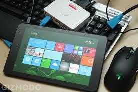 can a cheap windows tablet replace your desktop gizmodo australia