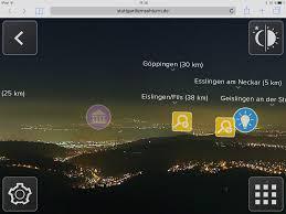 fernsehturm stuttgart wirtschaftsförderung region stuttgart neue app 360 grad fernsehturm