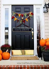 40 Easy Thanksgiving Front Door Decorations Ideas