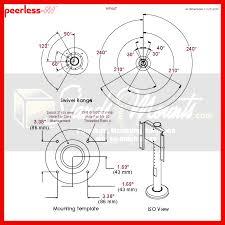 peerless 360 degree vesa desktop swivel mount for 32 47 inch
