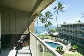 kauai sandy beach condo oceanfront vacation home rental