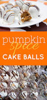 Halloween Cake Balls Recipe by Pumpkin Spice Cake Balls Wholefully