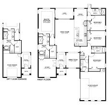 Impressive 4 Bedroom House Plans Master Suite Over Garage Plan Impressive House Floor Plans Four