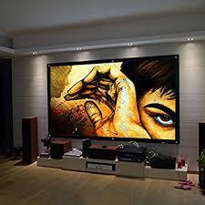 projection screens amazon com safekom portable 100