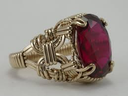 jewelry wire rings images Wire wrapped handmade jewelry jpg