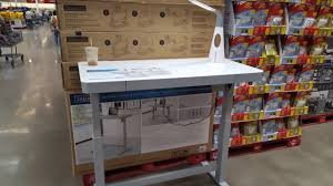 Adjustable Height Desk by Costco Tresanti Adjustable Height Desk 299 Youtube