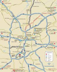 Map Georgia Usa by Atlanta Maps Georgia U S Maps Of Atlanta