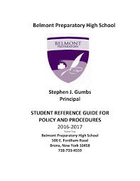 bphs student handbook 2016 2017 by bcarvaj issuu