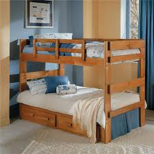 Woodcrest Heartland BR Split Bunk Bed Furniture Fair North - Youth bedroom furniture north carolina