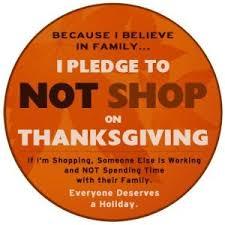 it s black friday not thanksgiving boycott black thursday