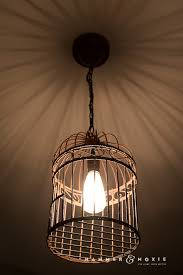Diy Pendant Light Fixture Diy Pendant Light Bright New Life For A Rusty Birdcage Hammer