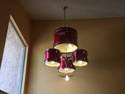 Cheap Drum Light Fixtures Drum Set Chandelier 6 Steps With Pictures