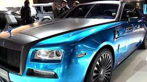 mansory wraith 2018 rolls royce wraith mansory bluerionlight special first