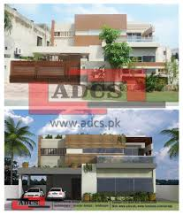 Architectural Design Of 1 Kanal House Adcs Architectural Design Consultancy Services