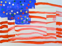 Jasper Johns Three Flags Kids Art Market Pattern Flags With Jasper Johns