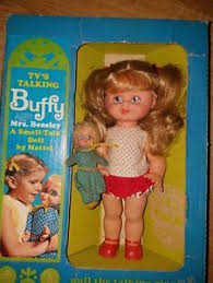 mrs beasley s mattel 1967 10 buffy doll in original box clothes w mrs beasley
