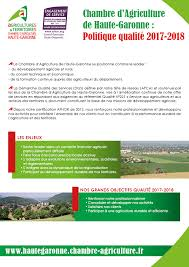 conseiller agricole chambre d agriculture démarche qualité chambre d agriculture de haute garonne