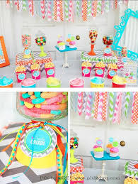 candy for birthdays chevron party ideas summer colorful candy and birthdays
