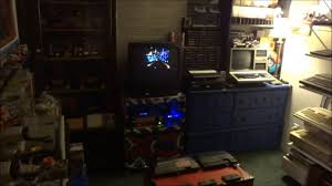 classic 8 bit gaming room setup youtube