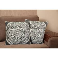 Grey Decorative Pillows Home Dynamix Chenille 20 In Gray Decorative Pillow Ch8013 451