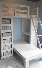 Pallet Bunk Beds Bedroom Furniture The 25 Best Pallet Bunk Beds Ideas On