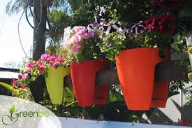 modern porch decoration with greenbo deck railing planter boxes