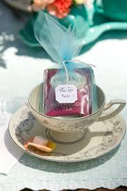 tea party bridal shower favors tea for two a tea party themed bridal shower