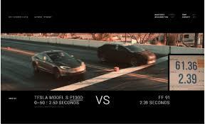 Porsche Cayenne 0 60 - watch the faraday future ff 91 do 0 60 mph in 2 39 seconds