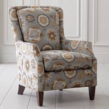 Accent Chair With Brown Leather Sofa Chair Leather Accent Chair Flemming Bassett Furniture Chairs With