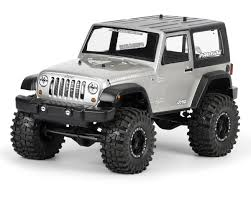 jeep black rubicon pro line 2009 jeep wrangler 1 10 crawler body clear pro3322 00
