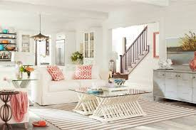 Plaid Living Room Furniture Beech Living Room Furniture Sets Plaid Seaside Decor Themed Beachy