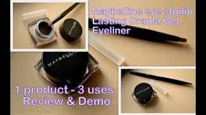 Maybelline Gel Eyeliner Review maybelline lasting drama by eyestudio gel eyeliner review