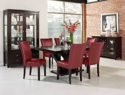 value city furniture dining room tables tempest caravelle iii dining room collection value city furniture