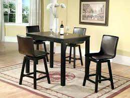 black counter height table set counter height table and chairs set lamonteacademie org