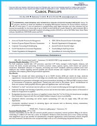 Resume Samples Accounting Experience by Best Account Payable Resume Sample Collections