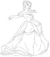 free printable disney princess coloring pages kids