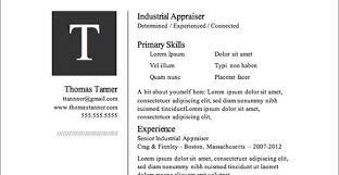 Resume Templates For Microsoft Word Top Resume Templates Jospar