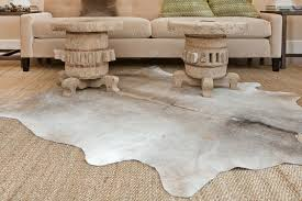 Faux Cowhide Rugs Cream And Grey Faux Cowhide Rug All About Rugs