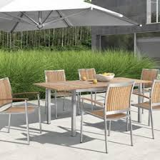 Outdoor Dining Set With Bench Modern Outdoor Dining Furniture Allmodern