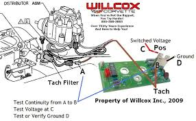 1975 1977 corvette tach connector wire location willcox corvette