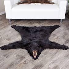 black bear skin rugs bear skin rug sale at bear skin world