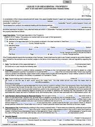 best photos of free lease agreements templates residential