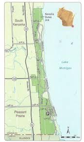 Kenosha Wisconsin Map by Chiwaukeeprairiemap Jpg