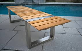 Contemporary Outdoor Patio Furniture Modern Outdoor Patio Furniture Teak Outdoor Bench Treenovation