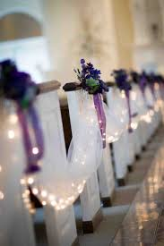 pew decorations wedding decor best pew decorations for weddings in a church