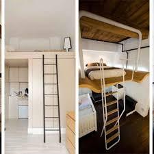 chambre gain de place lit mezzanine 2 places 9 idées gain de place pour la chambre