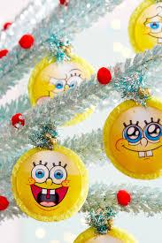 spongebob sponge u0026 pineapple ornaments nickelodeon parents