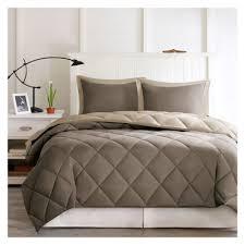 Down Alternative Comforter Sets Microfiber Reversible Down Alternative Comforter Set