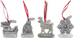 lands end 50 any one item personalized pewter ornament