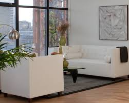 white leather couch living room drk architects